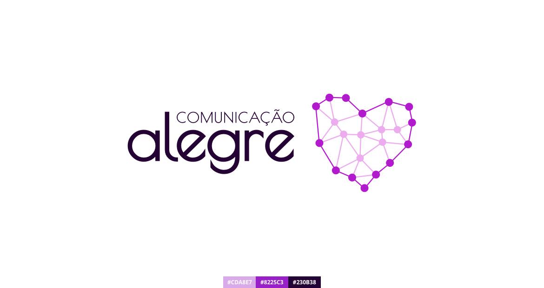 Comunicação Alegre - Identidade visual