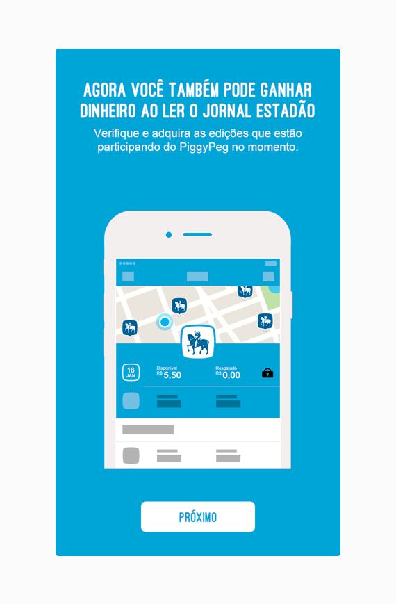 PiggyPeg - App Estadão