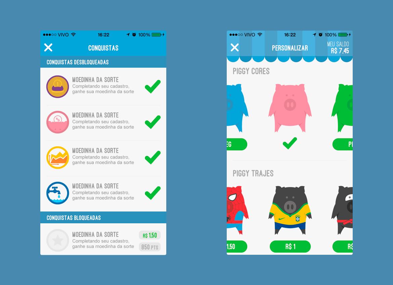 PiggyPeg - App Game