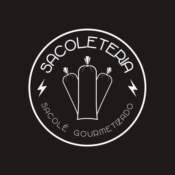 Sacoleteria - Logo negativo